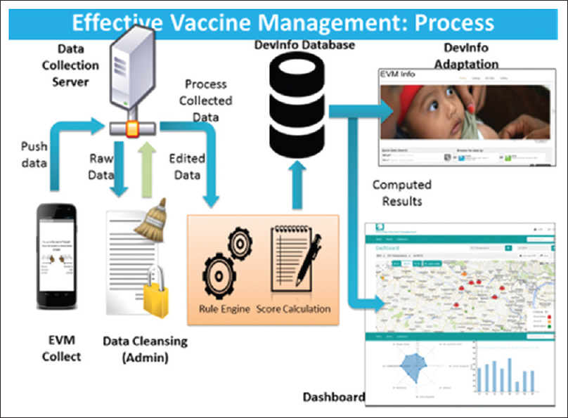 Figure 1: Effective Vaccine Management process flowchart